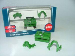 Siku, Adapter kit met frontgewicht groen, 1:32