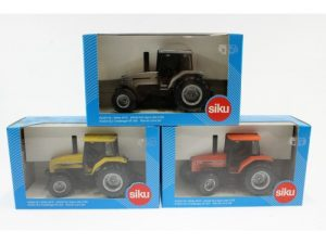 Siku, Banner lane set White 6810 : Agco Allis 8785 : Challenger MT 465, 1:32