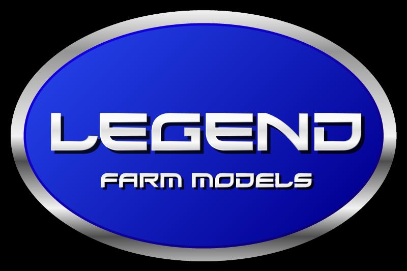 Legend farm models, miniatuur trekker, schaalmodel landbouw
